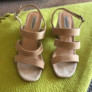 Steve Madden Nude dress sandals